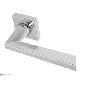 Дверная ручка на квадратном основании Fratelli Cattini UNICA 8-CR полированный хром