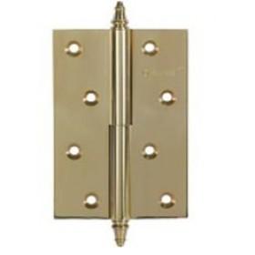 Дверные петли Archie A010-D 100X70X3-224 L (разъемная левая) с короной золото