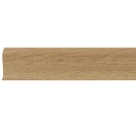 Плинтус ПВХ Line Plast L023 Дуб Античный 2500х58х28 мм