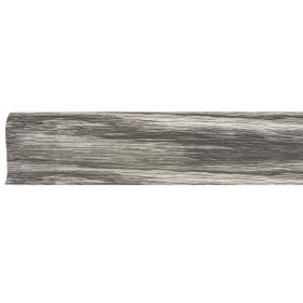 Плинтус ПВХ Line Plast L060 Дуб Пепельный 2500х58х28 мм