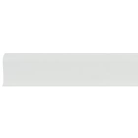 Плинтус ПВХ Line Plast L008 серый однотонный 2500х58х28 мм
