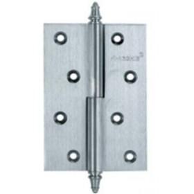 Дверные петли Archie A010-D 100X70X3-232 L (разъемная левая) с короной матовый хром