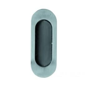 Ручка для раздвижных дверей и шкафов-купе без механизмов Archie A-K02-V0H белый никель