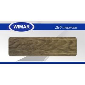 Плинтус Wimar (Вимар), ПВХ, с кабель-каналом 802 Дуб термоли, 58 мм.