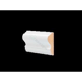 Молдинг настенный МДФ грунтованный под покраску М 6.60.25 Ликорн 6025 мм