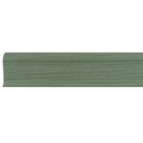 Плинтус ПВХ Line Plast L009 Клён зелёный 2500х58х28 мм
