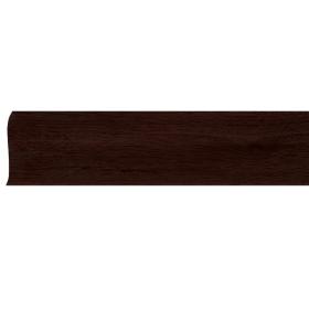 Плинтус ПВХ Line Plast L049 Махагон 2500х58х28 мм