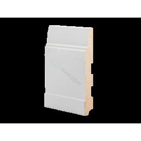 Плинтус напольный МДФ грунтованный под покраску Р 13.150.22 Ликорн 150 мм