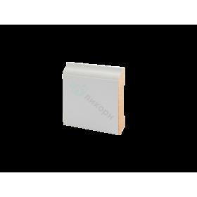 Плинтус напольный МДФ грунтованный под покраску Р 18.82.12 Ликорн 82 мм