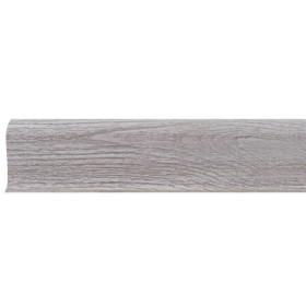 Плинтус ПВХ Line Plast L001 Африканское дерево 2500х58х28 мм