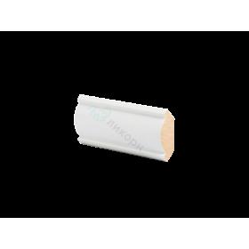 Плинтус потолочный МДФ грунтованный под покраску К 3.42.16 Ликорн 30х30 мм