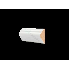 Молдинг настенный МДФ грунтованный под покраску М 3.41.20 Ликорн 4120 мм
