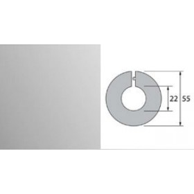 Обвод для труб Идеал 22 мм 081 Металлик