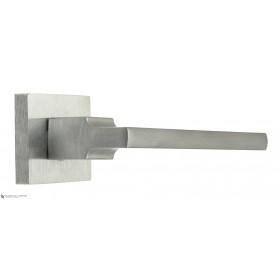 Дверная ручка на квадратном основании Fratelli Cattini SLIM 8-CS матовый хром