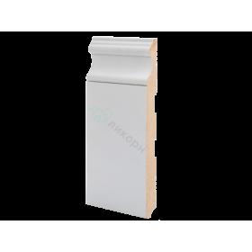 Плинтус напольный МДФ грунтованный под покраску Р 16.200.16 Ликорн 200 мм