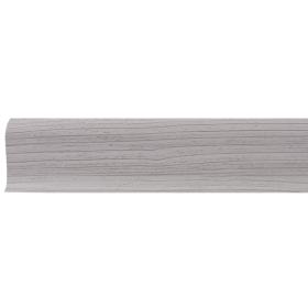 Плинтус ПВХ Line Plast L004 Ясень 2500х58х28 мм
