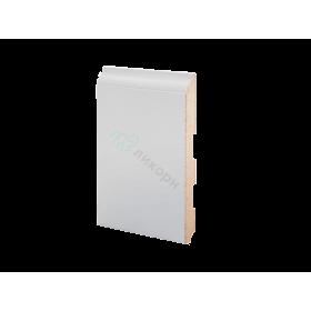 Плинтус напольный МДФ грунтованный под покраску Р 18.133.12 Ликорн 133 мм