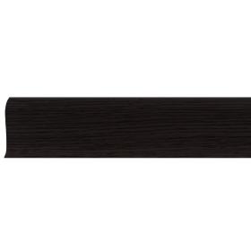 Плинтус ПВХ Line Plast LT011 Темный Клен 2500х58х28 мм