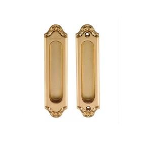 Ручка для раздвижных дверей и шкафов-купе без механизмов Archie Genesis ACANTO S. GOLD (SD) матовое золото