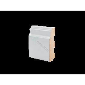 Плинтус напольный МДФ грунтованный под покраску Р 10.110.28 Ликорн 110 мм