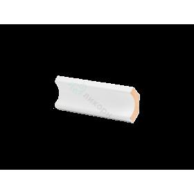 Плинтус потолочный МДФ грунтованный под покраску К 2.33.12 Ликорн 24х24 мм