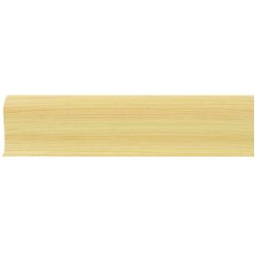 Плинтус ПВХ Line Plast L006 Сосна светлая 2500х58х28 мм