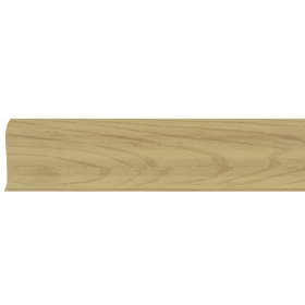 Плинтус ПВХ Line Plast L020 Вяз дерево 2500х58х28 мм
