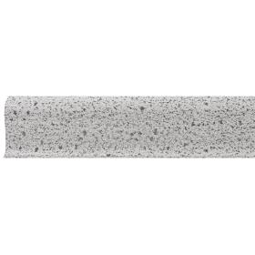 Плинтус ПВХ Line Plast L043 Серый Гранит 2500х58х28 мм