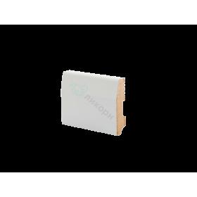 Плинтус напольный МДФ грунтованный под покраску Р 12.70.16 Ликорн 70 мм