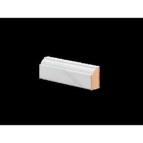 Молдинг настенный МДФ грунтованный под покраску М 8.28.16 Ликорн 2816 мм
