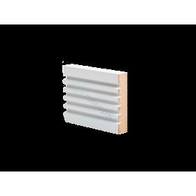 Молдинг настенный МДФ грунтованный под покраску D 5.75.16 Ликорн 7516 мм