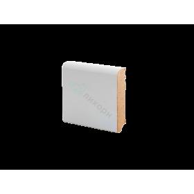 Плинтус напольный МДФ грунтованный под покраску Р 2.80.16 Ликорн 80 мм