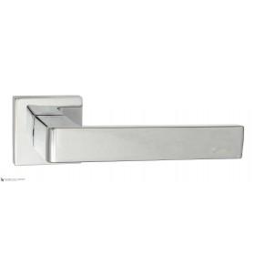 Дверная ручка на квадратном основании Fratelli Cattini BOOM 8-CR полированный хром