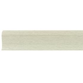 Плинтус ПВХ Line Plast L065 Клён светлый 2500х58х28 мм