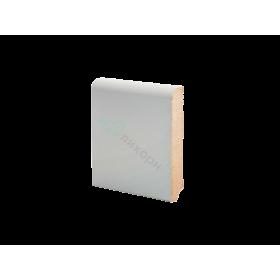Плинтус напольный МДФ грунтованный под покраску Р 2.100.16 Ликорн 100 мм