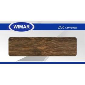 Плинтус Wimar (Вимар), ПВХ, с кабель-каналом 807 Дуб селект, 58 мм.