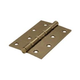 Дверная петля универсальная Palidore латунная 100*70*2,5 4ВВ АВ PALIDORE бронза