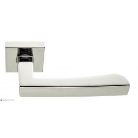 Дверная ручка на квадратном основании Fratelli Cattini HAMMER 8-CR полированный хром