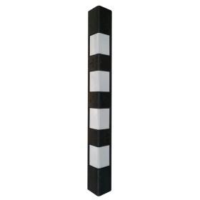 Демпфер угловой ДУ-900 светоотражатели белого цвета