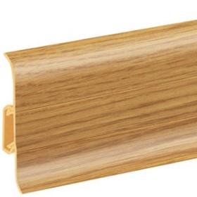 Плинтус пластиковый (ПВХ) CEZAR (Цезарь) Premium №135 с кабель каналом