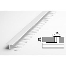 Одноуровневые пороги ЛК 15 белый глянец 9003