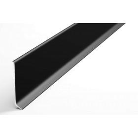 Плинтус из алюминия Пл 60 чёрный анод 15л