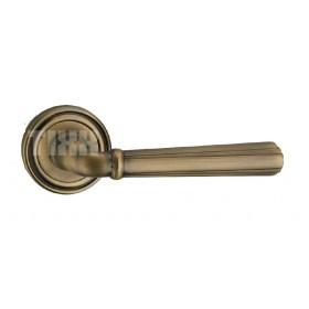 """Межкомнатная дверная ручка TIXX Elegance """"Роберта"""", бронза античная матовая"""