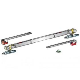 Раздвижная система для одностворчатой двери MORELLI SLIDING SET 3 от 732 до 1000 мм