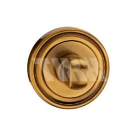Завертка сантехническая к ручкам TIXX Elegance, бронза античная